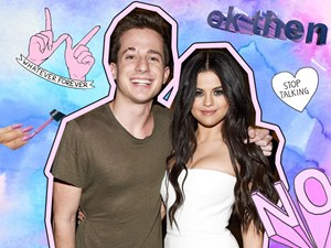 Charlie Puth gets salty with Selena Gomez