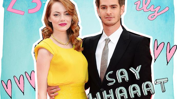 Andrew Garfield and Emma Stone back together?