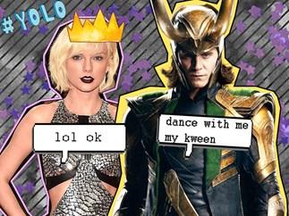 Tom Hiddleston on that Taylor Swift Met Gala dance off