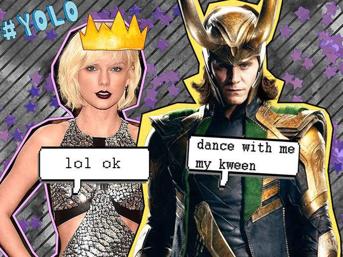 Tom Hiddleston on that Taylor Swift Met Gala dance off