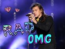 Harry Styles has been writing music for a very famous singer