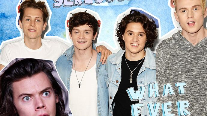 The Vamps do not want to be compared to One Direction