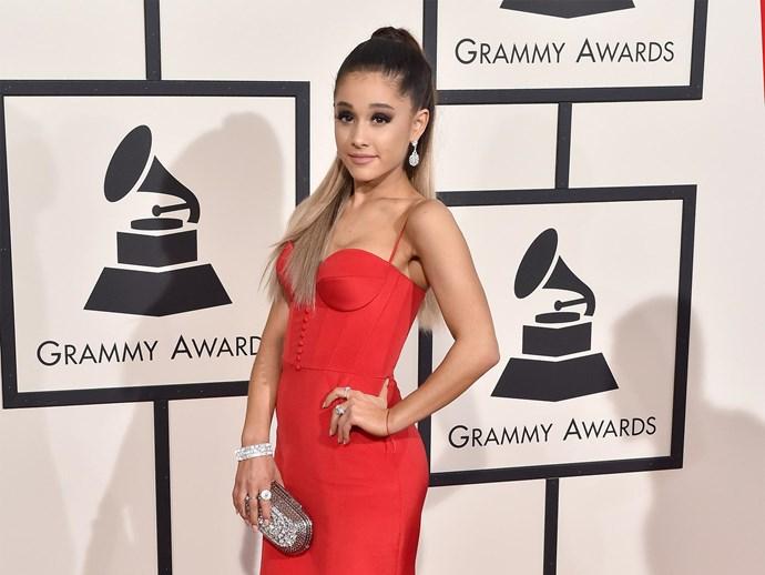 Ariana Grande tattoo