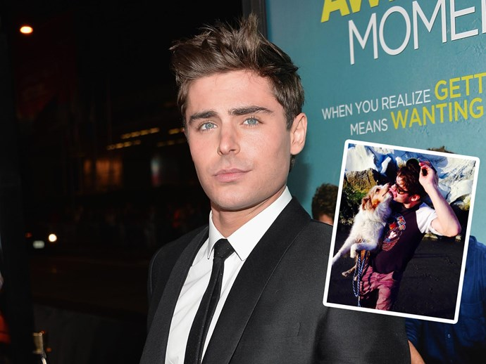 Zac Efron's dog Puppy has died