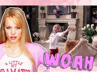 So Regina George's little sister from 'Mean Girls' is all grown up and she's like, really pretty