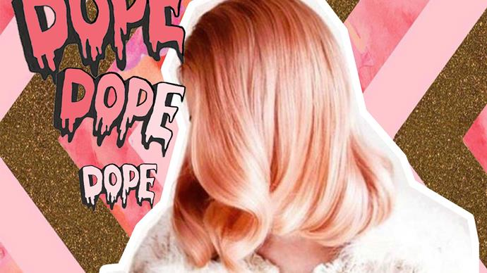 Peach hair trend is the newest obsession