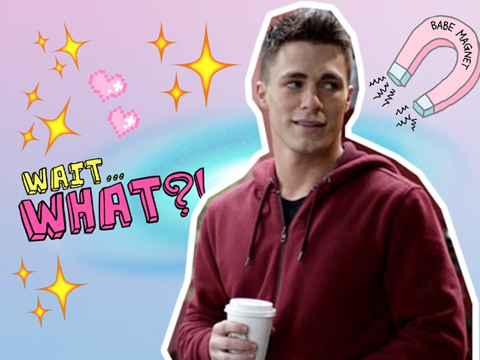 "Colton Haynes to star in ""Rock That Body"" comedy flick"