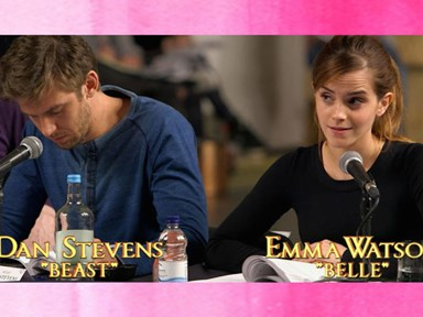 Here's your FIRST look at Emma Watson performing as Belle in 'Beauty and The Beast'