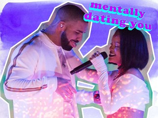 Rihanna says she loves Drake on Instagram