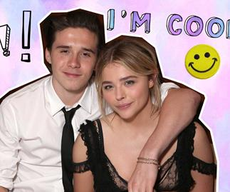 Chloe Grace Moretz hits the red carpet after break up