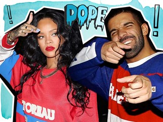 Rihanna's camo shark tattoo dedicated to Drake explained