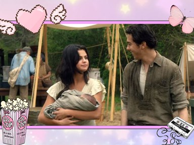 "Nat Wolff and James Franco help deliver Selena Gomez's baby in the ""In Dubious Battle trailer"