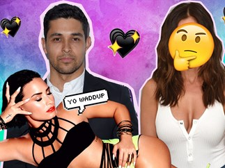 Wilmer Valderrama and Minka Kelly dating?