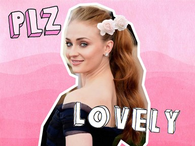 Sophie Turner's red carpet hair is the ~ultimate~ formal #goals