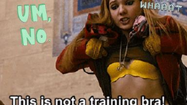 People are mad as heck at this training bra advertisement