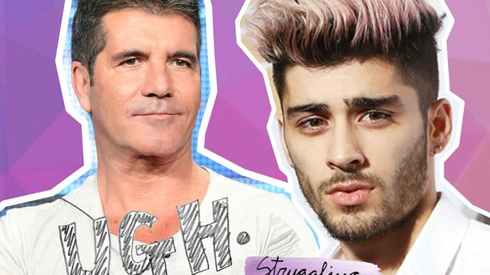 Simon Cowell is upset with Zayn Malik for his new TV show