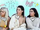 Kim, Kylie and Kendall take over the frow at Kanye West's Yeezy show