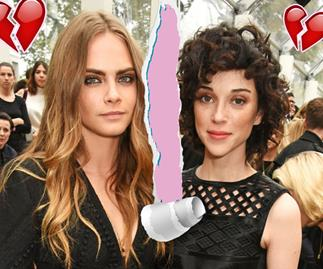 Cara Delevingne and St Vincent have split!