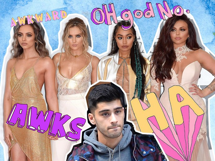 "Perrie Edwards tells Jesy Nelson to ""shut up"" after she publicly shades Zayn"