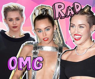 All of Miley Cyrus' most iconic red carpet looks