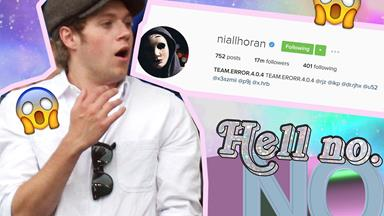 BREAKING: Niall Horan's Instagram has been hacked and it's his birthday goddamnit