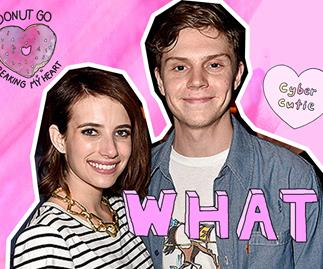 Evan Peters and Emma Roberts are dating again
