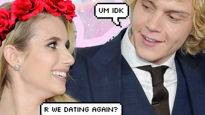 Timeline of Emma Roberts and and Evan Peters' story