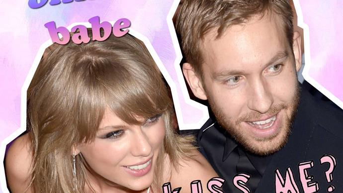 Calvin Harris and Taylor Swift act flirty on Instagram
