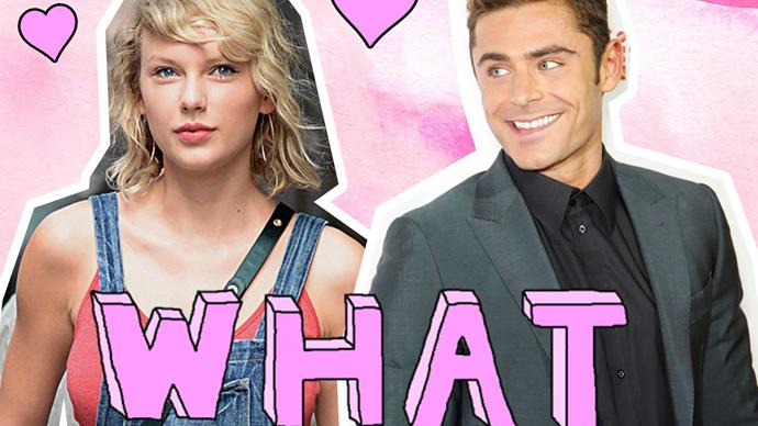 Are you ready to start shipping Taylor Swift and Zac Efron?