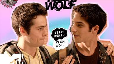 Teen Wolf just shared the CUTEST season one throwback picture