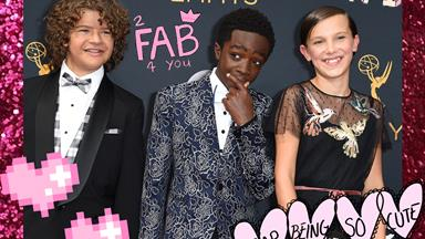 "The kids of 'Stranger Things' performed ""Uptown Funk"" at the Emmys and turned the place upside down"