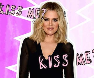 Khloe Kardashian kisses her new boyfriend on camera