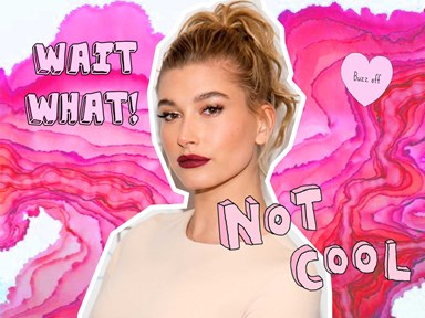 Hailey Baldwin was forced into bleaching her brows and she is aaaaangry