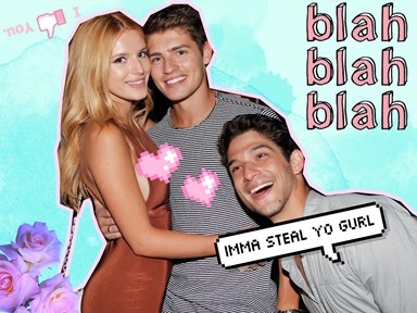 Bella Thorne and Tyler Posey are Snapchat official and Gregg Sulkin is fuming