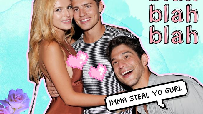 Gregg Sulkin annoyed with Bella Thorne and Tyler Posey