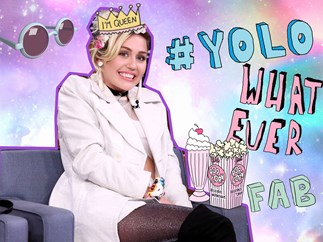 [WATCH] Miley Cyrus swears on LIVE TV
