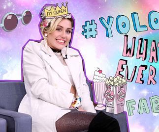 [WATCH] Miley Cyrus swears on LIVE TV