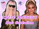 The complete hair evolution of king Kylie Jenner