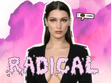 Bella Hadid #FreesTheNipple for a saucy new photoshoot