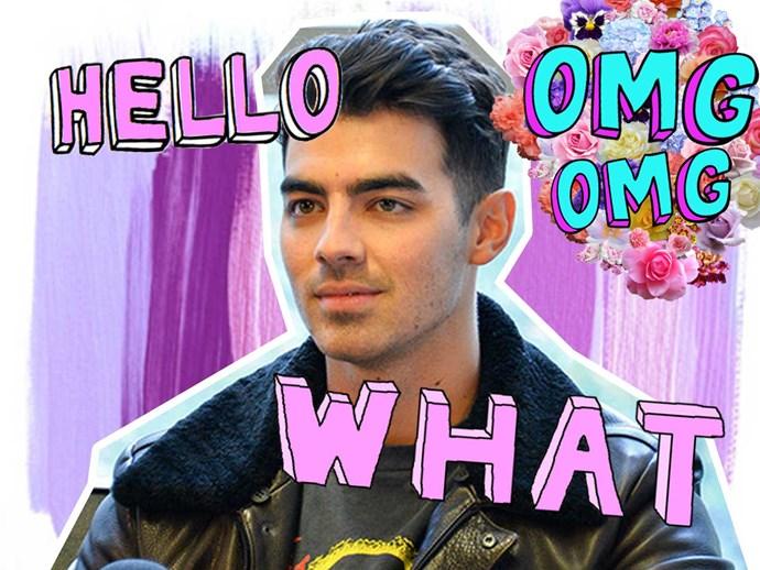 Joe Jonas dinner date with ex-girlfriend Camilla Belle