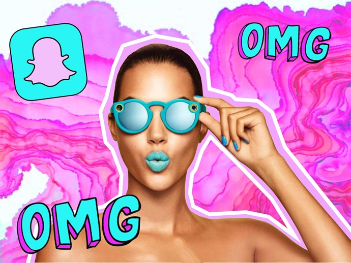Snapchat release recording sunglasses