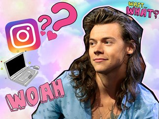 Harry Styles is being damn mysterious on Instagram and we need answers