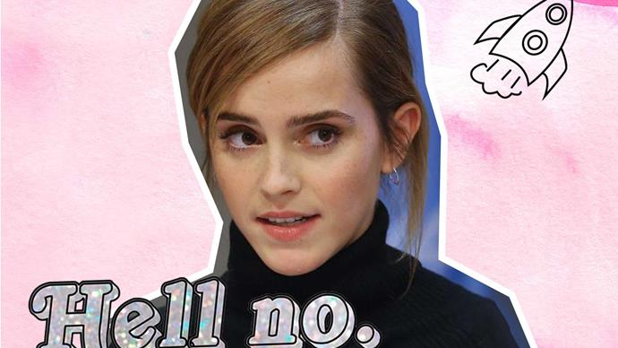 The Sun reporter writes awful blurb about Emma Watson