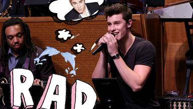 Shawn Mendes does a KILLER Justin Bieber impersonation