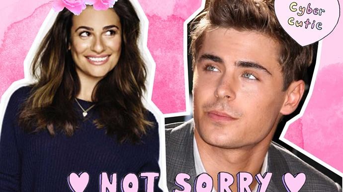 Lea Michele reveals she's thirsty for Zac Efron in a game
