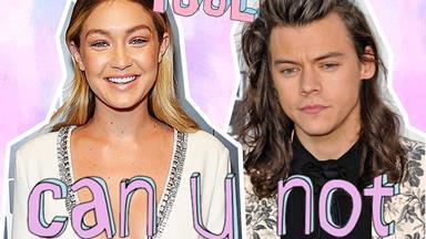 Gigi Hadid attempted to shade Harry Styles' new magazine covers and nahhhhh