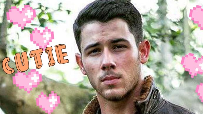 FIRST LOOK: Nick Jonas in 'Jumanji'