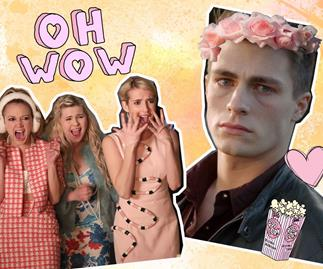 Colton Haynes is unrecognizable in Scream Queens role