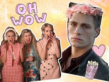 Colton Haynes is unrecognizable in new Scream Queens role