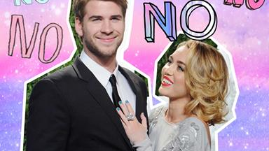 Miley has been caught flirting with a married man